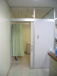 西中島南方授乳室入口