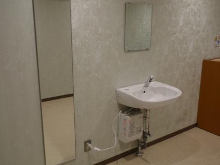 姿見鏡、洗面台