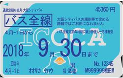 バス全線定期券