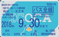 地下鉄・ニュートラム-バス連絡定期券
